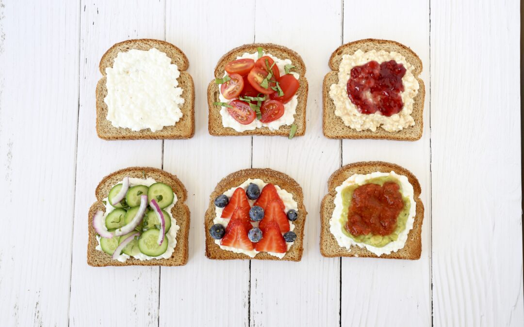 Cottage Cheese Toast Ideas