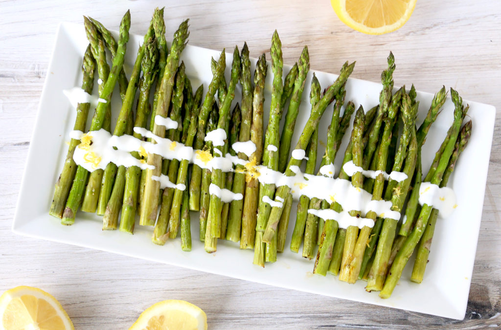 Asparagus with Lemon Skyr