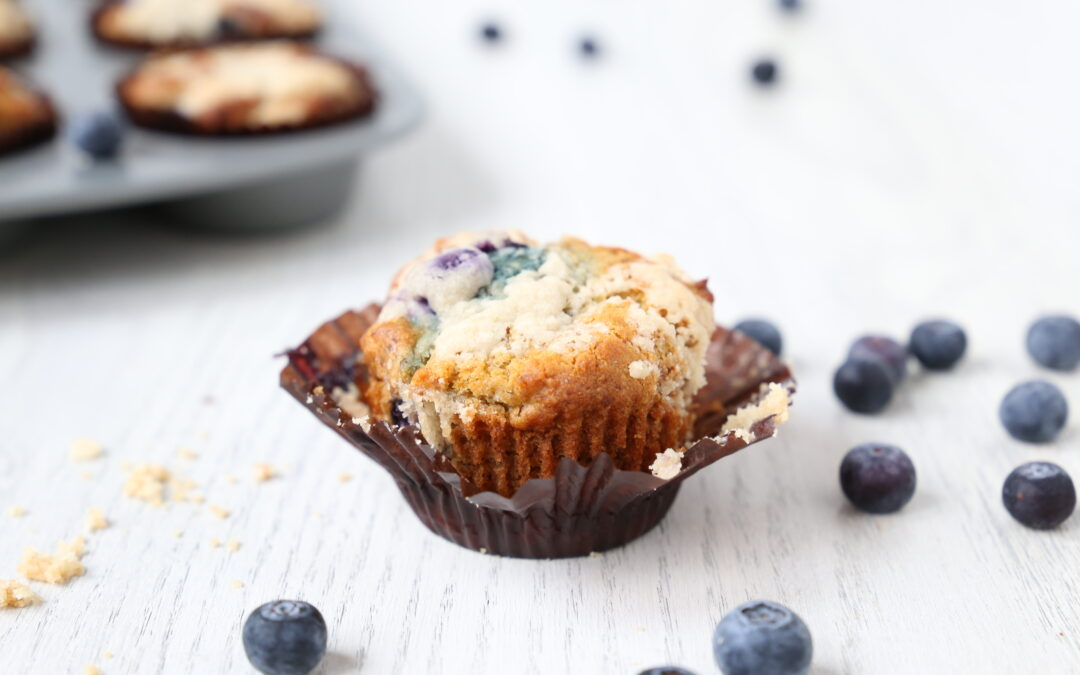 Blueberry Yogurt Muffins