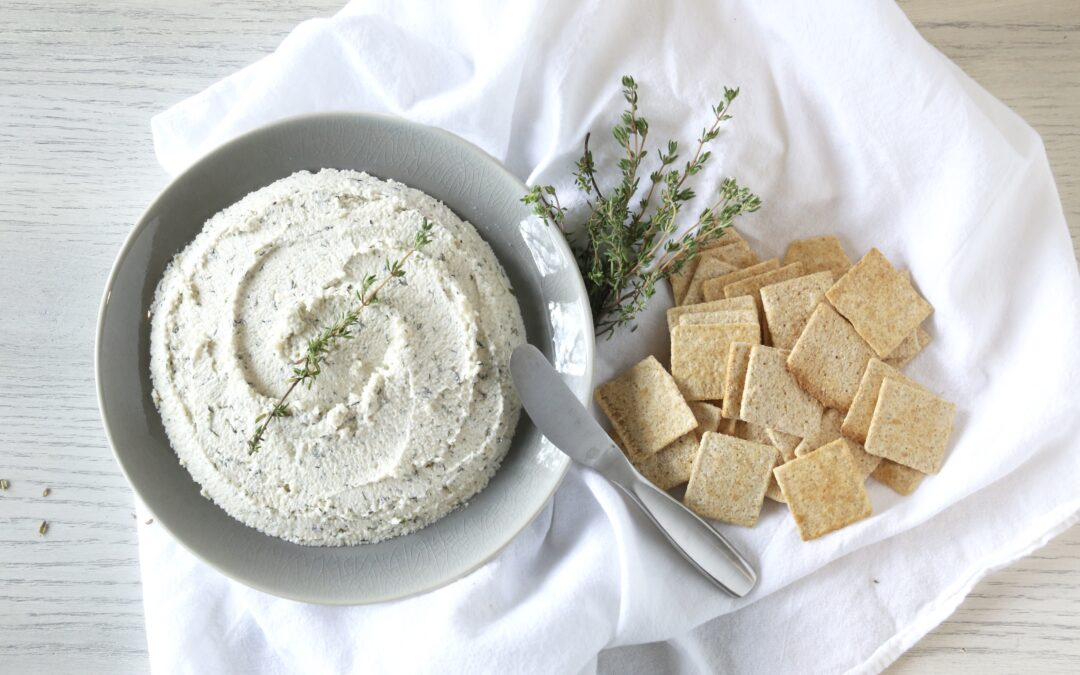 Zesty Herb Cashew Cheese