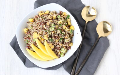 Colorful Quinoa & Pecan Salad