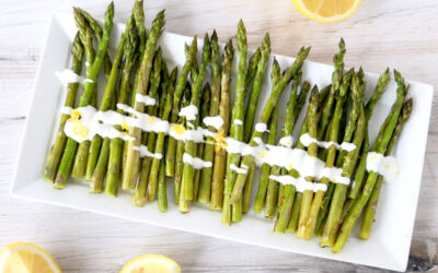 Asparagus with Lemon Skyr
