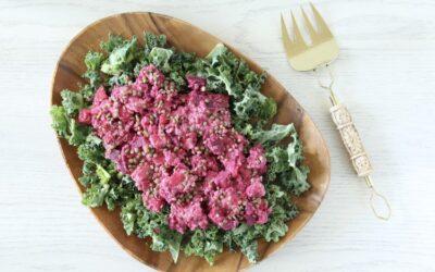 Potato, Beet and Lentil Salad