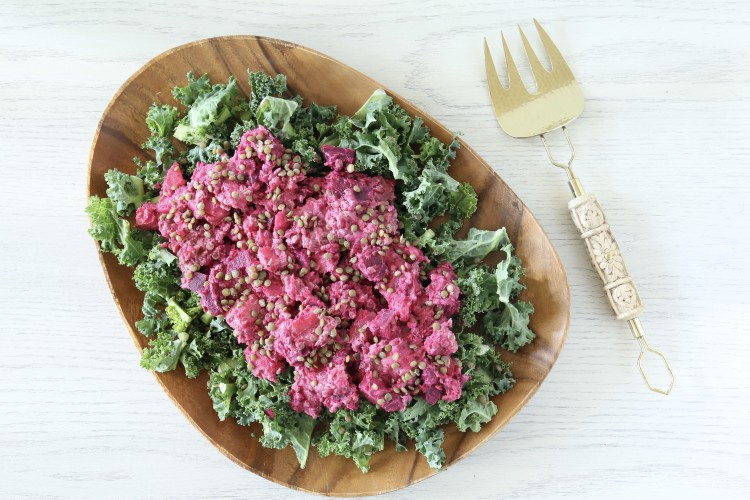 Potato, Beet and Lentil Salad