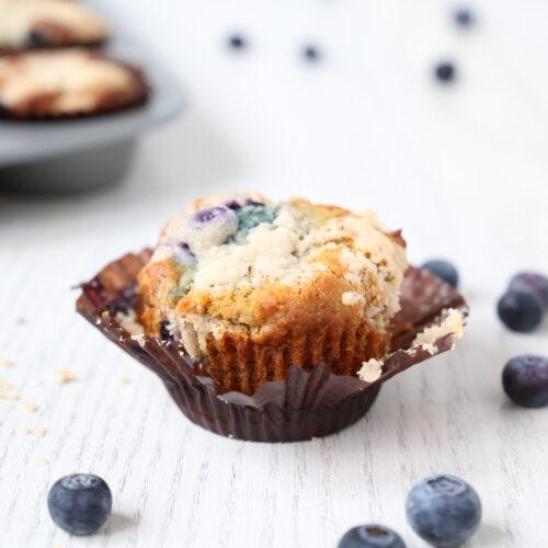 healthy breakfast muffins blueberry yogurt muffin recipe