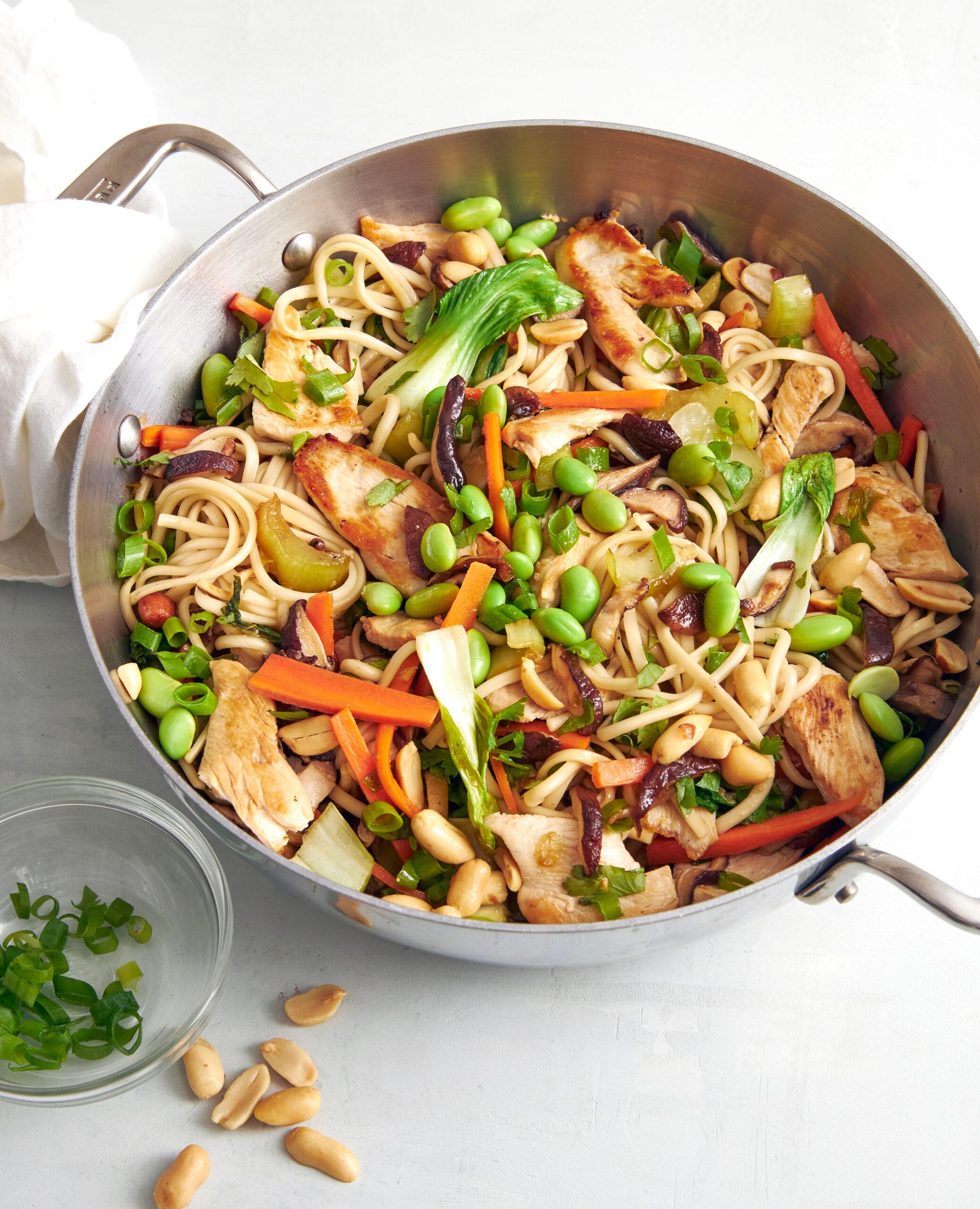 Udon Noodle Recipe Chicken Vegetable Udon Noodle Stir Fry