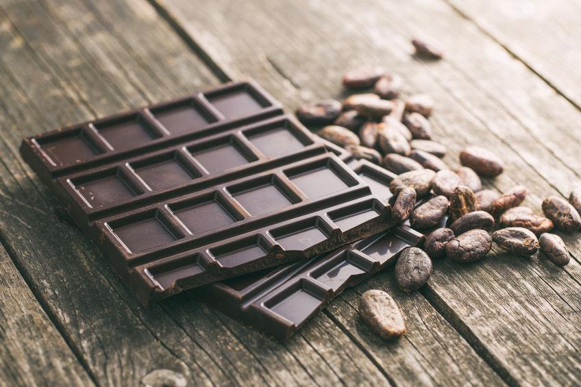 6 stress relief foods dark chocolate
