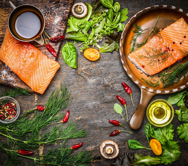 6 stress relief foods salmon